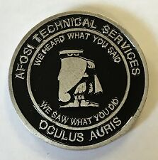 AFOSI Air Force Office of Special Investigations Technical Services Oculus Auris