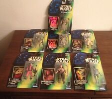 *NEW* Lot of 7 Star Wars Power of the Force Collection 2 Action Figures Kenner