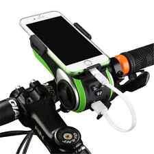 New ROCKBROS Multifunction Bicycle Audio Player Bike Headlight Phone Holder FT