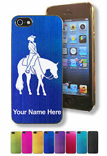 Personalized Case/Cover for iPhone 5/5S - WESTERN PLEASURE HORSE / COWGIRL