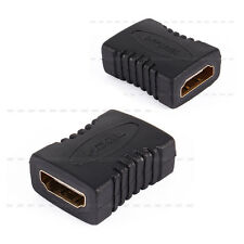 HDMI Female to Female F/F Cable Extender Adapter Connector For 1080P HDTV HDCP
