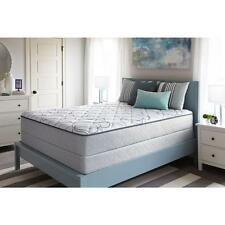 Luxury Sealy York Firm King-Size Low Profile Mattress Set Comfortable Bed