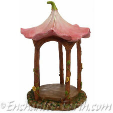 New Miniature/Fairy Garden Flower Top Gazebo /Fairy house/ Fairy Garden Gazebo