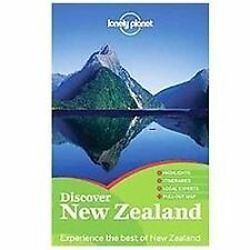 Lonely Planet Discover New Zealand (Travel Guide)-ExLibrary