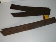 New Western Saddle BLACK Nylon Tie Strap Girth Cinch 6' & Off Billet SET