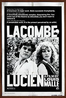 Louis Malle Vintage Original 1 Sheet Lacombe Lucien Movie Poster 1974  27 x41