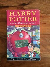 J K Rowling's Harry Potter and the Philosophers Stone 1st Edition