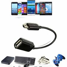 "USB Host OTG Adaptor Adapter Cable For Sylvania 7"" mini Android Tablet SYTAB7MX"