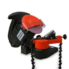 HD PORTABLE ELECTRIC CHAINSAW BENCH GRINDER CHAIN SAW SHARPENER 7500 rpm NEW