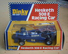 DINKY TOYS 222 Hesketh 308 E Racing Car - mint condition - boxed