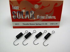 Team Solar Throttle Return Spring 4pcs package E013 Fit Novarossi Sirio