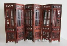 *NEW* 1:6 Doll Furniture - Screen Chinese Mahogany Style for Dollhouse