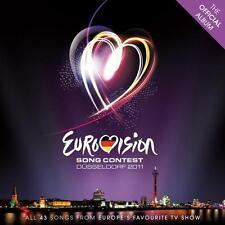 Eurovision Song Contest, Düsseldorf 2011   2-CD   NEU&OVP!