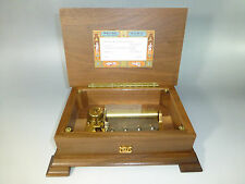 "EXC. VINTAGE SWISS  REUGE MUSIC BOX "" LOVE STORY "" CH 4/50  ( WATCH THE VIDEO )"