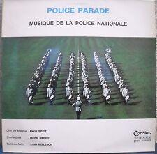 MUSIQUE MILITAIRE POLICE PARADE par POLICE NATIONALE Dédicacé PORT A PRIX COUTAN