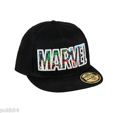 Marvel Comics casquette New Era Premium Collage Logo 100% coton hip hop cap 3827