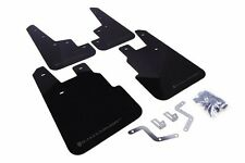 Rally Armor Black Mud Flap w/ Grey Logo For 14+ Subaru Forester
