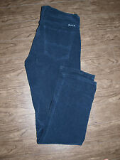 Lucky Brand Size 30x29 Womens Sweet n' Straight Navy Cords