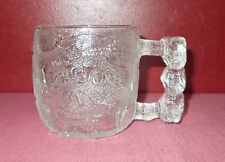 1993 FLINTSTONES ROCKY ROAD GLASS CUP COLLECTOR MUG