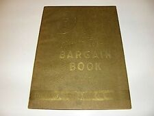 JIM BROWN'S 1937 BARGAIN BOOK FENCE & WIRE COMPANY CLEVELAND MEMPHIS W@W! NR