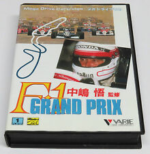 F1 Grand Prix F-1 By Varie for Japanese MegaDrive Japan JPN