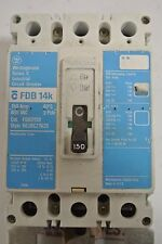 Westinghouse Eaton FDB3150 3P 600V 150A BLUE LABEL CIRCUIT BREAKER - Tested