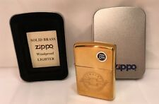 Zippo Lighter Sealed Chevrolet Engraved Emblem High Polish Brass L 1995 XI