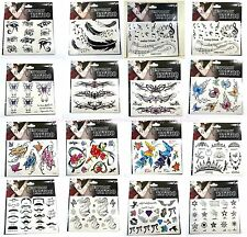 US SELLER--15 sheets/lot Bulk lot Temporary Tattoo wristband tattoos wholesale
