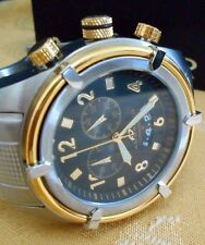 $1200.00-Rare Mint ANDROID AD405 Swiss Chrono Quartz Watch with Android Box.