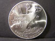 Boston Tea Party Uncirculated 1 Troy Ounce .999 Fine Silver Lot 2
