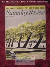 Saturday Review June 19 1954 ALFRED KORZYBSKI JONATHAN DANIELS LOUIS AUCHINCLOSS
