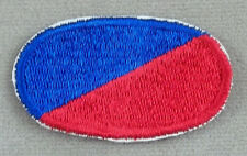 US Army 173rd Airborne Brigade HHC Oval Cut Edge Patch ( Type 1 )