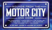 Motor City Sounds 4 CD 1960s Detroit Motown Music Songs