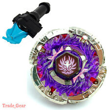 BB116A JADE JUPITER BEYBLADE Masters Fusion Metal Fight+GRIP+BLUE SPIN LAUNCHER