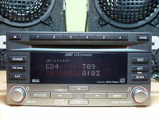 SUBARY Impreza 2008-2014 6-disc CD MP3 WMA SAT player CZ641U6 see Test VIDEO