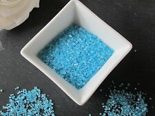 60g EDIBLE BLUE GLITTER STANDING SUGAR CRYSTALS SPRINKLES, CAKE DECORATIONS