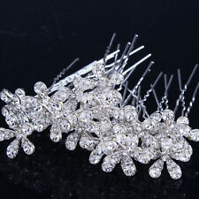 20pcs Fashion Chic Daisy Flower Crystal Hairpin Hiar Clip Hair Accessories