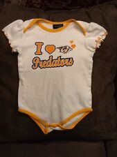 Nashville Predators Baby Girl Infant Romper Creeper Onesie Outfit Size 18 Months