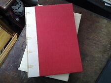 THE TRAIL AND EXECUTION OF SOCRATES vellum spine FOLIO SOCIETY ILLUSTRATED RED