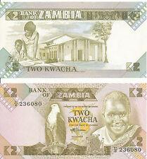 Sambia / ZAMBIA - 2 Kwacha 1988 UNC - Pick 24c