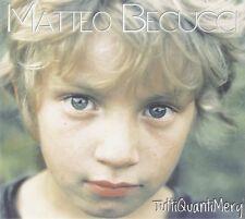 BECUCCI MATTEO - TUTTI QUANTI MERY  - CD NUOVO SIGILLATO