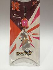 London 2012 Olympics Official WENLOCK 3D Mobile Phone/Bag Charm