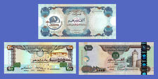UNITED ARAB EMIRATES - Lots of 3 notes - 200...1000 Dirhams - Reproductions