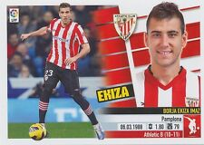N°05 BORJA EKIZA IMAZ # ESPANA ATHLETIC CLUB STICKER PANINI ESTE LIGA 2014