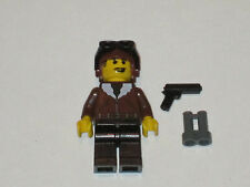 Lego Custom Minifig Airplane Pilot with Weapons
