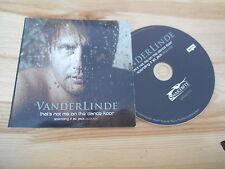 CD Pop Vanderlinde - That's Not Me On The Dance Floor (1 Song) MCD / SNAKEBITE