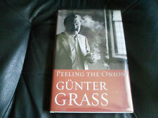 GUNTER GRASS SIGNED - PEELING THE ONION  First Hardcover Edition NEW NOBEL PRIZE