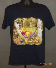 Winny The Pooh Disney Original Promo Movie T-Shirt Size:M Bother Free