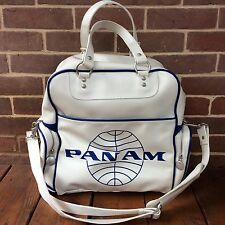 Pan Am Certified Large Travel Bag #114 Weekender Carry On Vintage Inspired Retro