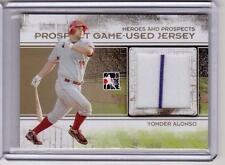 YONDER ALONSO 2011 ITG Prospects Game-Used Jersey Rookie RC Card *GOLD* 1/1 RARE